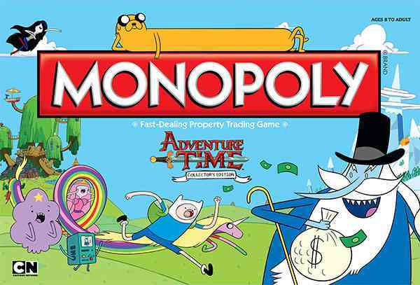 USAopoly Monopoly : Adventure Time Collector�s Edition By Usaopoly (COR) at Sears.com